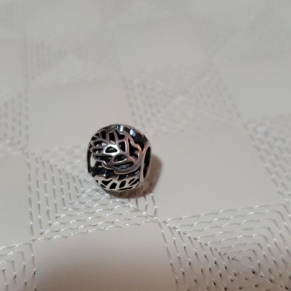 Pandora leaf charm
